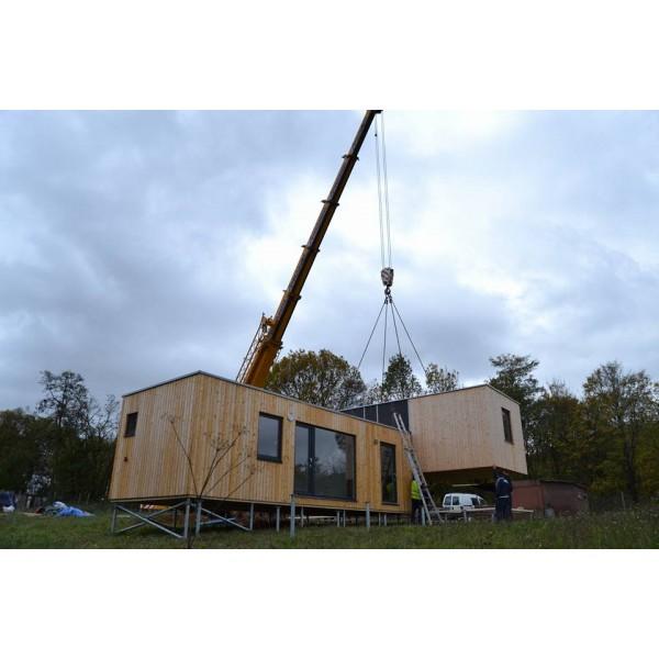 Casa modulare 3-camera